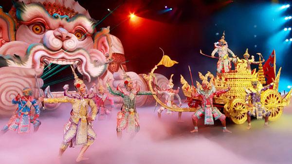 FantaSea - show trình diễn nghệ thuật độc đáo chỉ có ở Phuket.