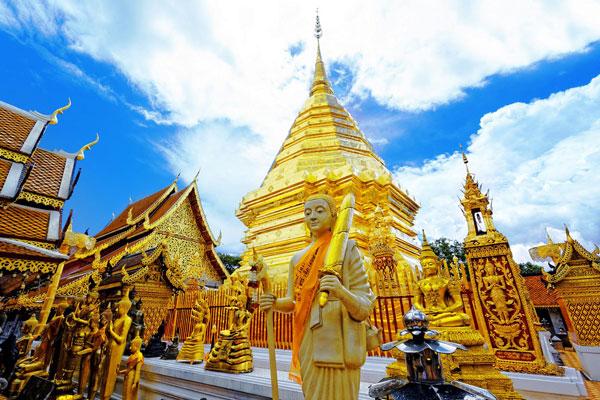 Phrathat Doi Suthep - Ngôi chùa đẹp nhất Chiang Mai.